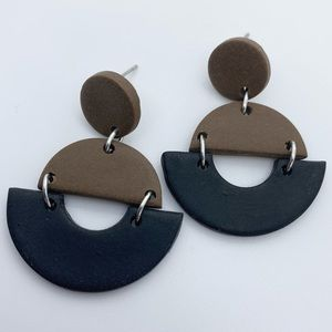 Neutral Handcrafted Earrings